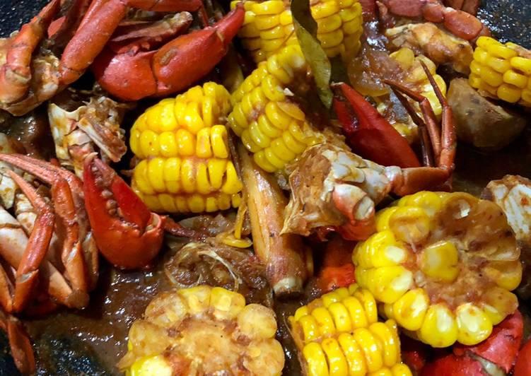 Resep membuat Kepiting saus padang lezat
