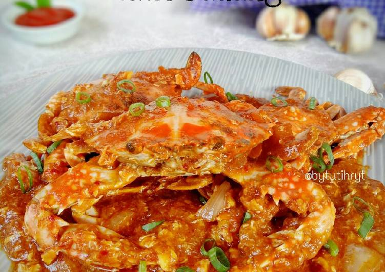 Resep: Kepiting rajungan saus padang lezat