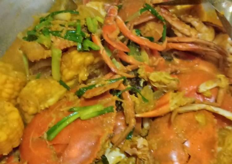 Resep: Kepiting saus padang muantulll...😋