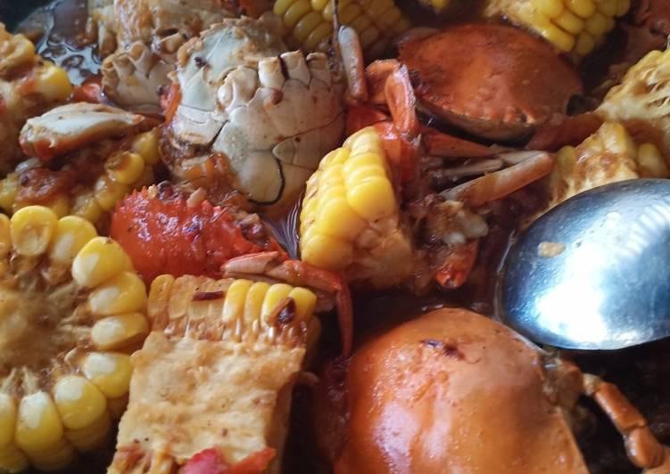 Resep membuat Kepiting pedas asam manis favorit suami