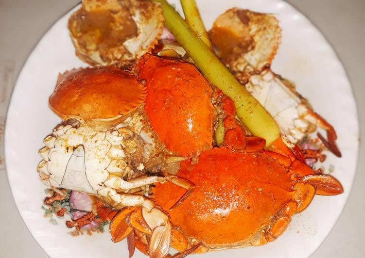 Resep mengolah Gulai kepiting manis lezat