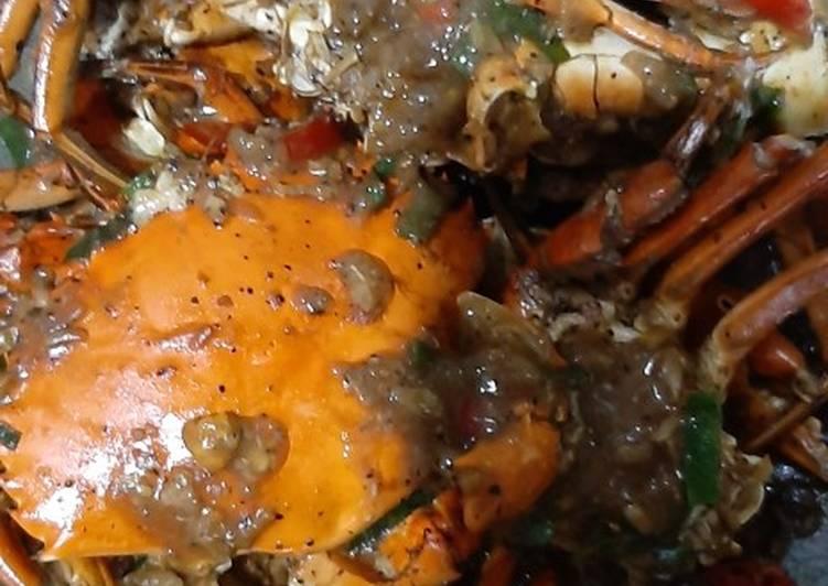 Resep: Kepiting lada hitam