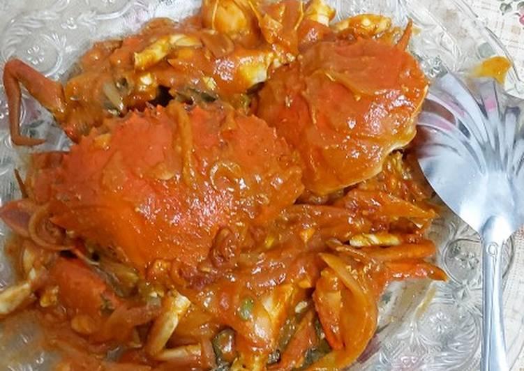 Resep: Kepiting saus padang