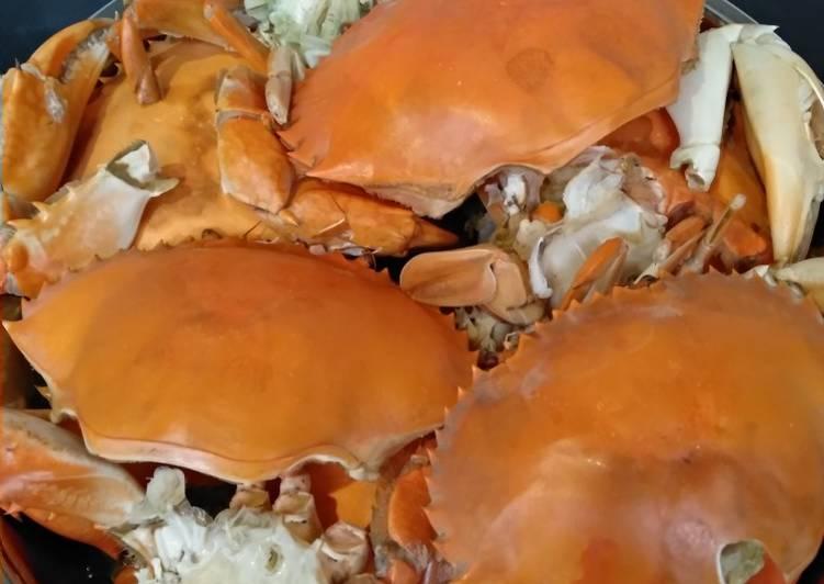 Resep: Kepiting kukus