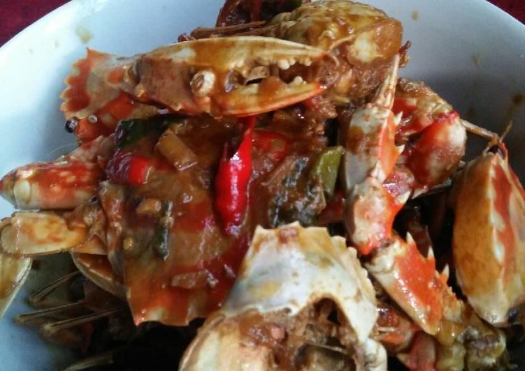 Resep: Kepiting rajungan masak Saos Tiram