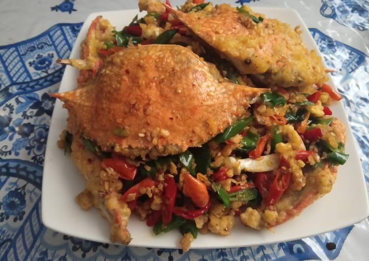 Resep: Kepiting cabe garam