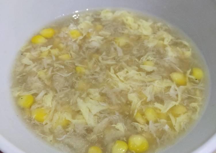 Resep: Sup kepiting jagung