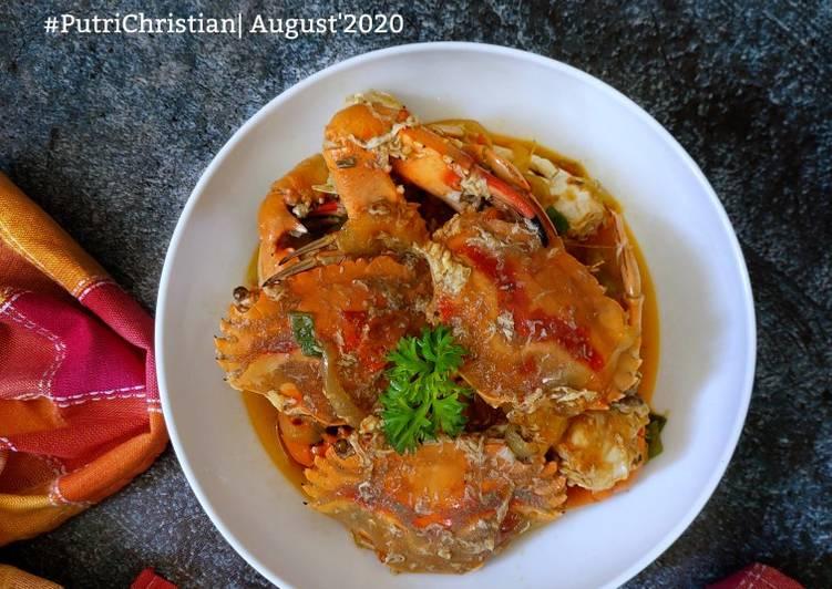 Resep memasak Kepiting saos padang