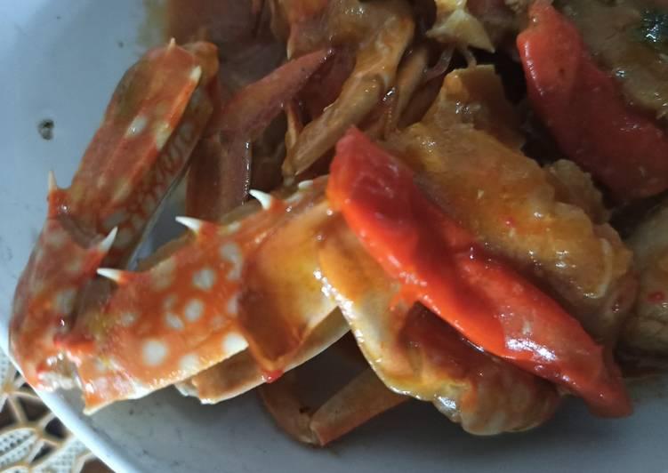 Resep membuat Kepiting saos padang