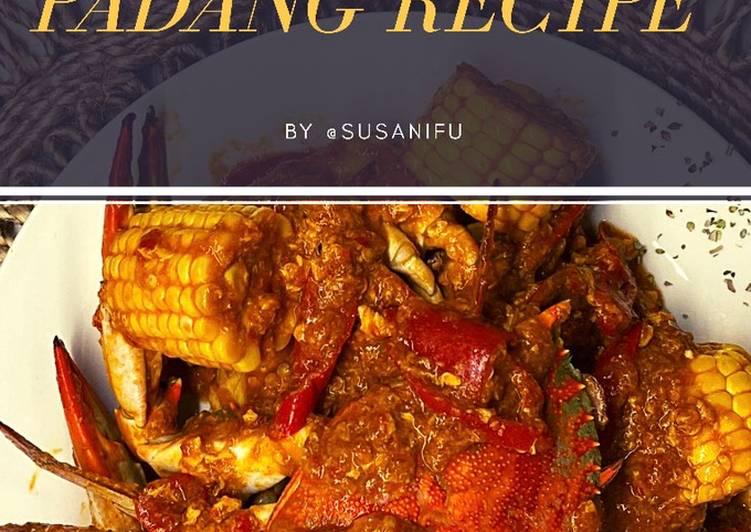 Cara Mudah membuat Kepiting Sauce Padang / kepiting saos padang
