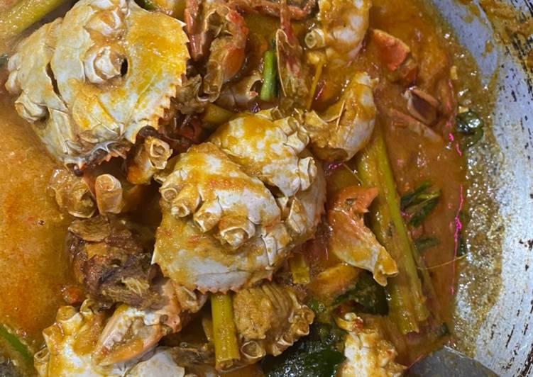 Cara Mudah mengolah Kepiting asam manis pedas istimewa