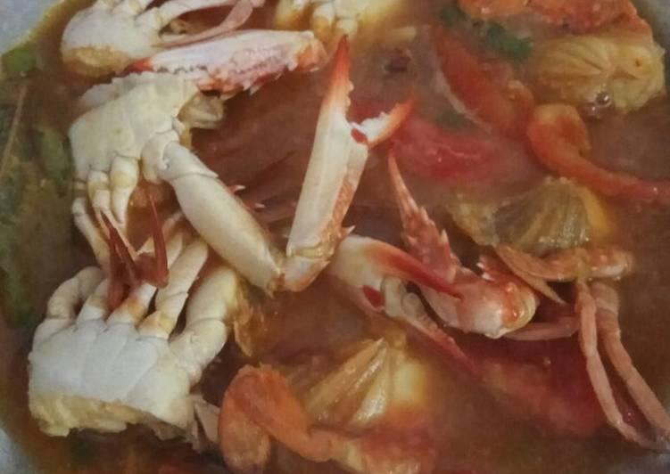 Resep: Kepiting saus tiram pedas enak