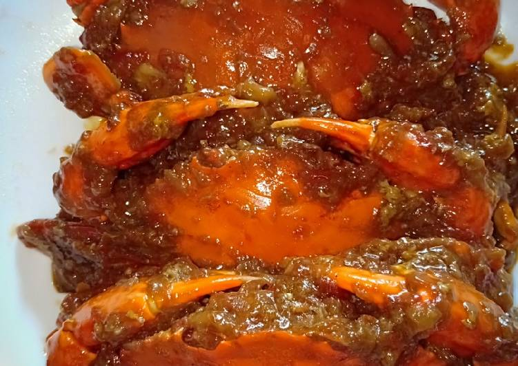 Resep: Kepiting saus tiram simple istimewa