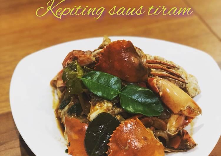Cara Mudah membuat Kepiting Saus tiram istimewa
