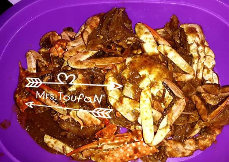 Resep: Rajungan kepiting saus tiram