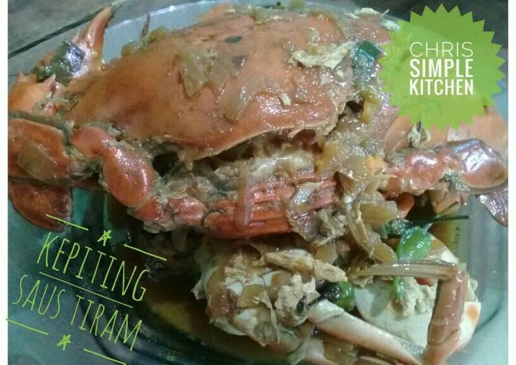 Resep: Kepiting saus tiram enak
