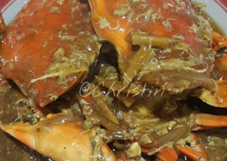 Cara membuat Kepiting saos tiram enak