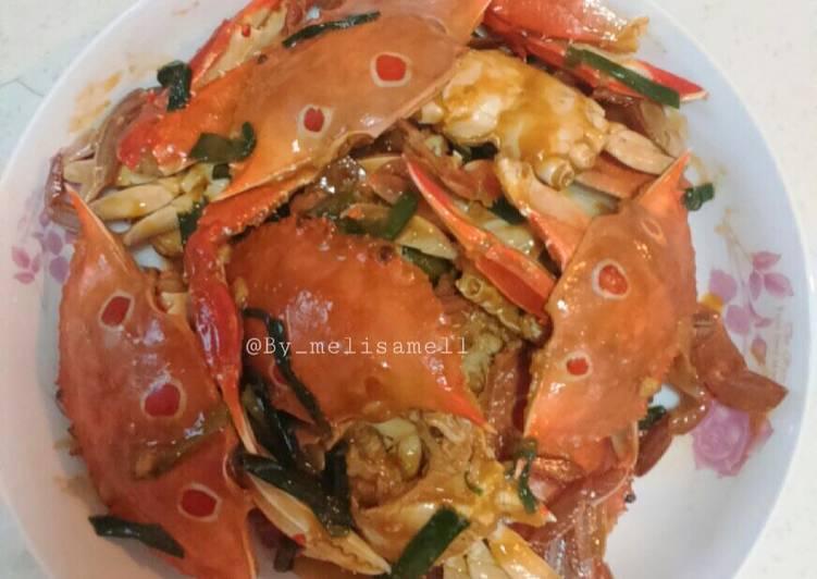 Cara Mudah memasak Kepiting masak saus tiram
