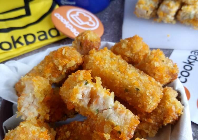 Resep: Nuget ayam udang mix sayur lezat