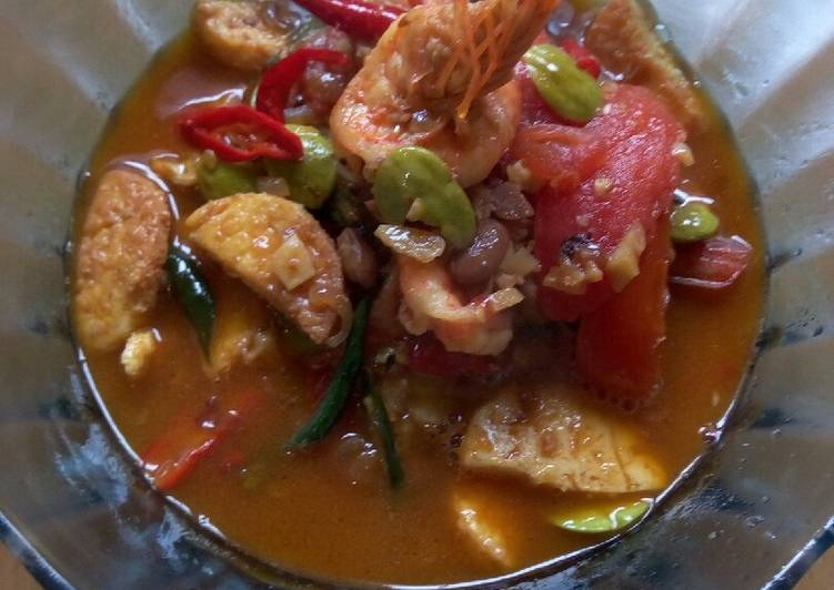 Resep: Tauco udang tofu sutra