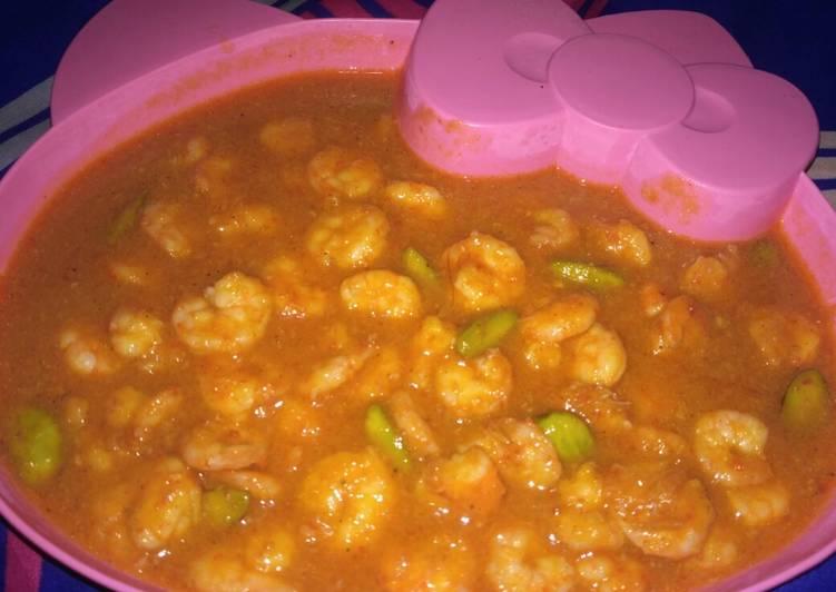 Cara Mudah memasak Udang saus tiram versi aku lezat