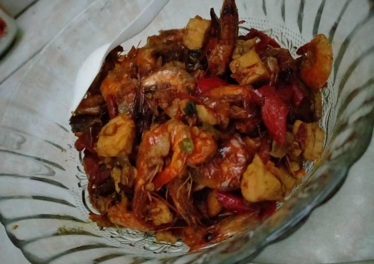 Resep: Udang ayam saos tiram