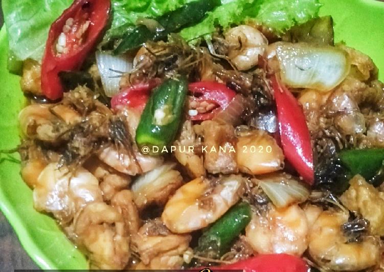 Cara Mudah memasak Udang tahu saos tiram lezat