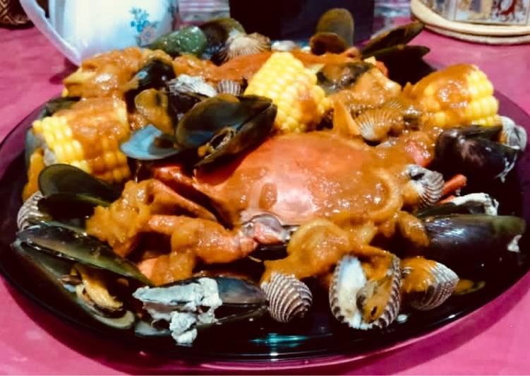 Resep: Seafood saus padang