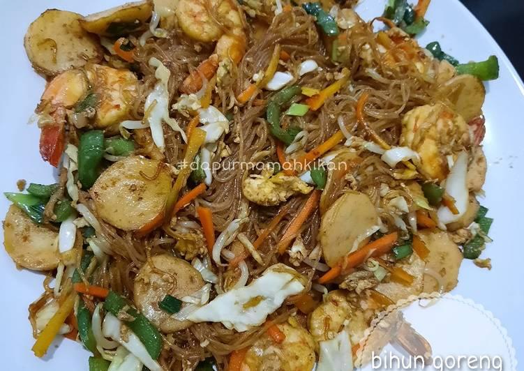 Resep: Bihun goreng seafood ala resto istimewa