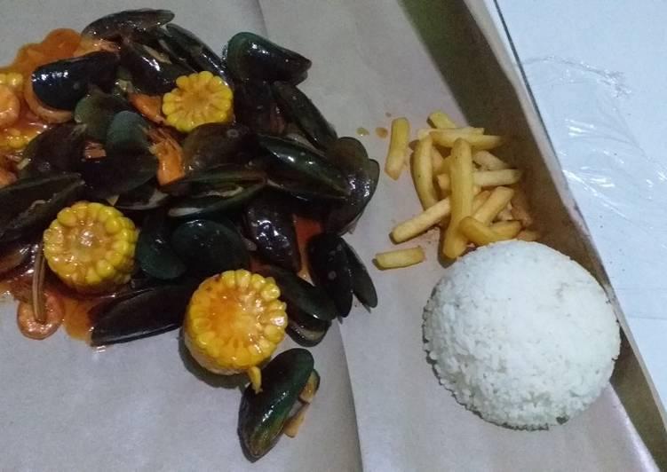 Resep: Seafood homemade