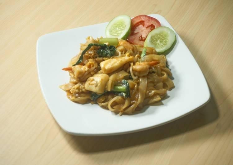 Cara Mudah membuat Kwetiau Goreng Seafood ala REMPAH NUSANTARA lezat