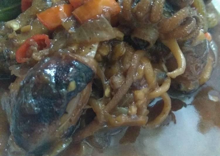 Resep memasak Sotong Pedas Manis (temannya Cumi seafood)
