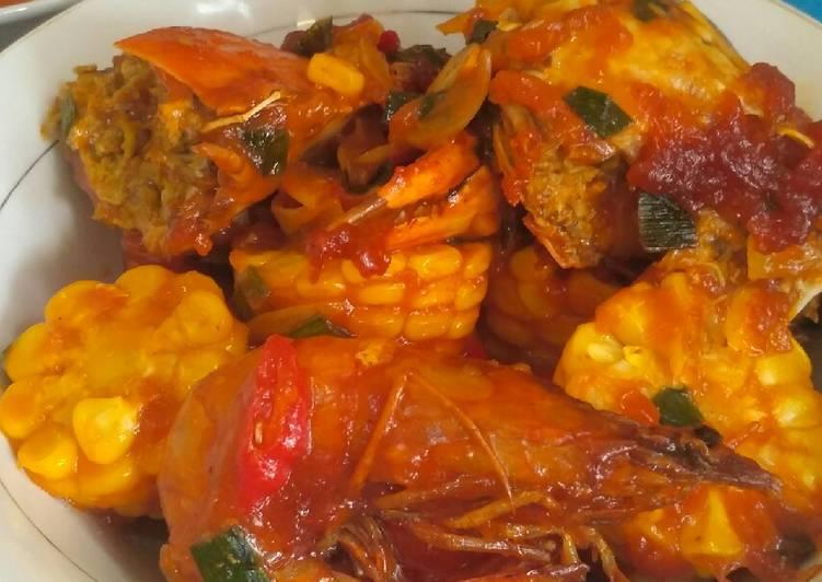 Resep: 10 Seafood pedas manis