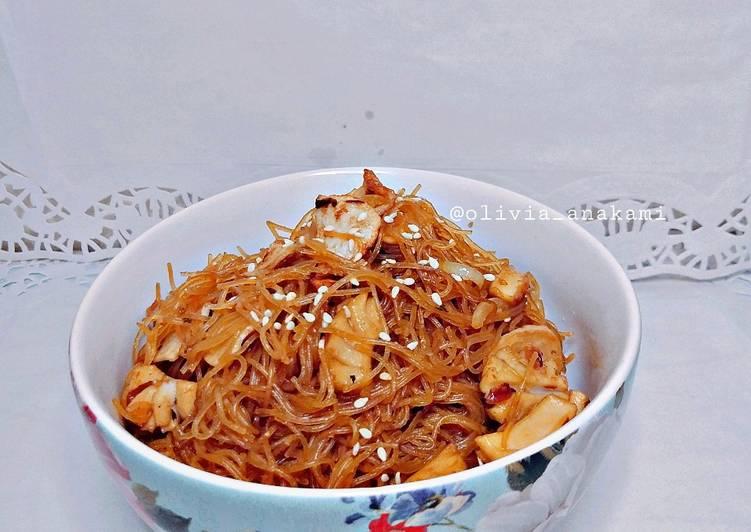 Cara mengolah Bihun goreng seafood