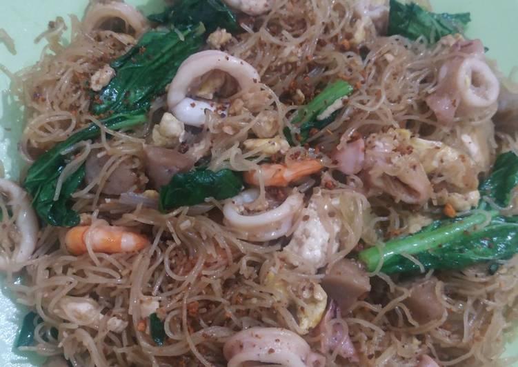 Resep: Bihun goreng seafood
