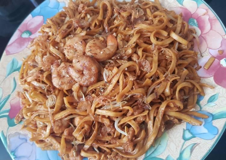 Resep: #30 bakmi goreng seafood