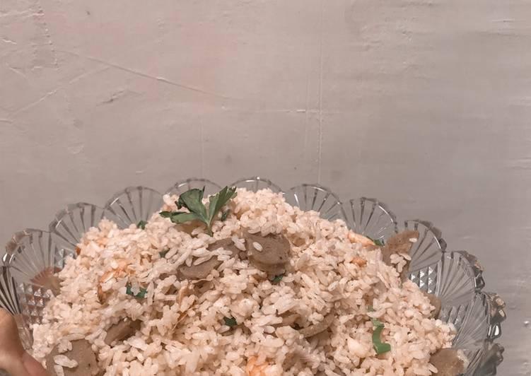 Resep: Nasi goreng ala seafood lezat