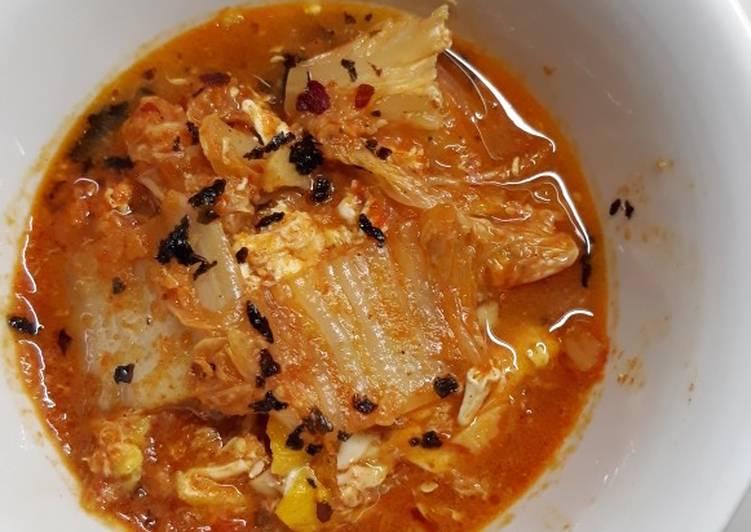 Resep: Budae Jjigae Seafood, simple dan enak