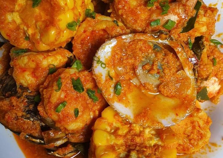 Resep memasak Seafood saos padang(udang & kerang)