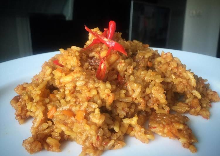 Resep: Nasi goreng seafood oregano