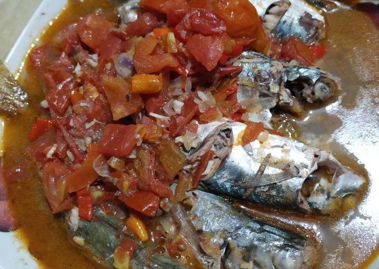 Resep memasak Ikan laut Asam manis pedes