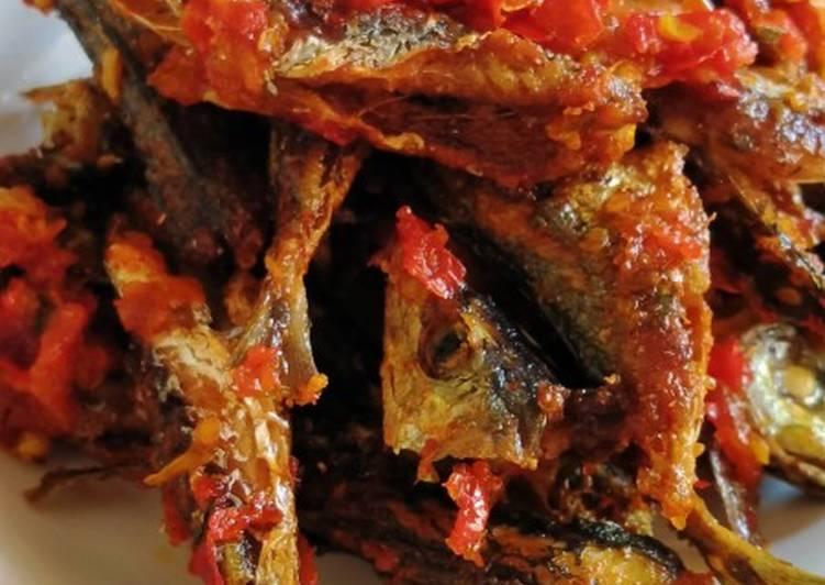 Cara memasak Sambal ikan laut pedas manis enak
