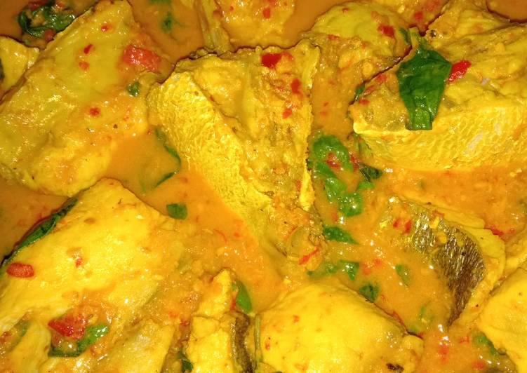 Cara memasak 5. Gulai ikan laut tanpa santan