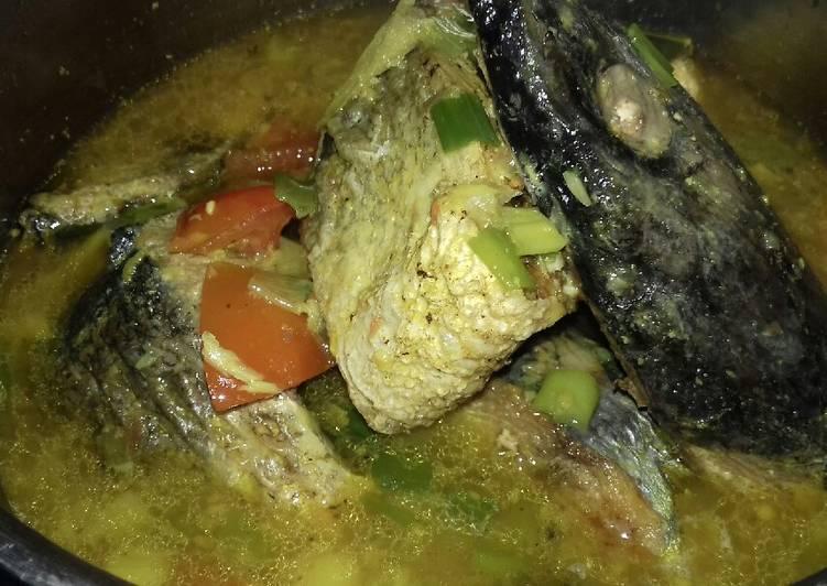 Resep mengolah Ikan laut kuah segeeeerrr