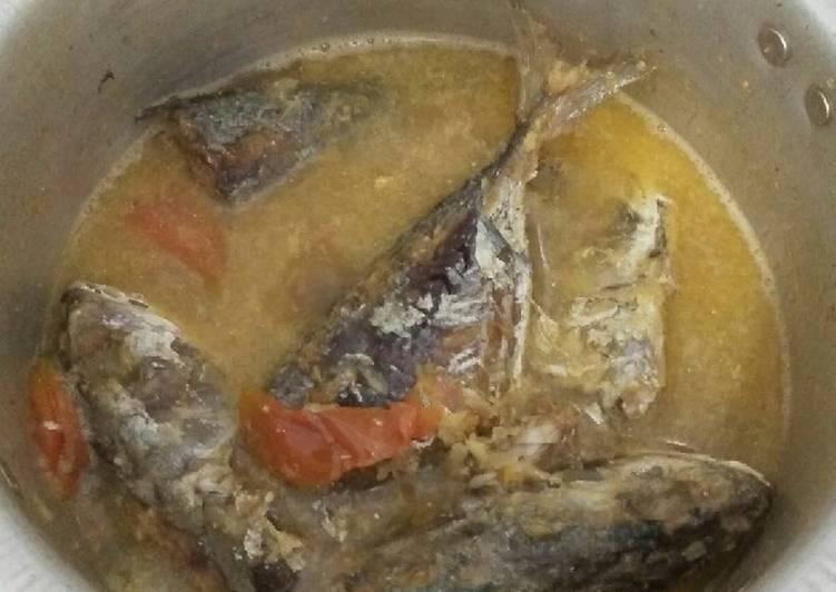Resep: Ikan laut kuah pedas tanpa santan istimewa