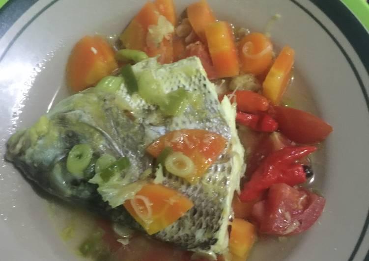 Resep: Sop Ikan laut (simple seger)