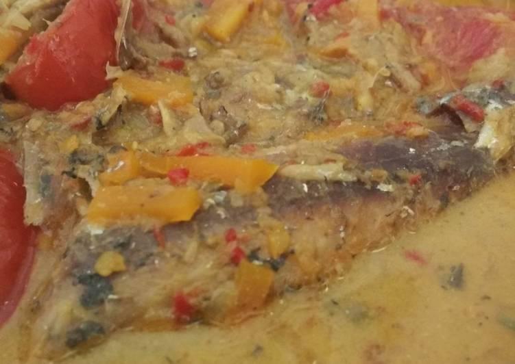 Resep: Ikan laut kuah kuning istimewa