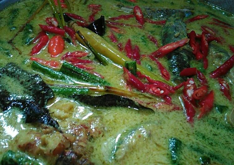 Resep memasak Gulai ikan laut