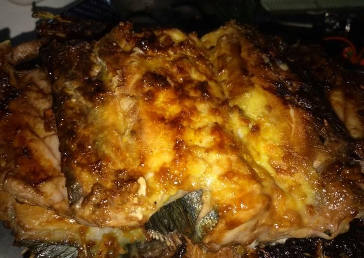 Cara Mudah memasak Ikan laut bakar(bumbu meresap) lezat