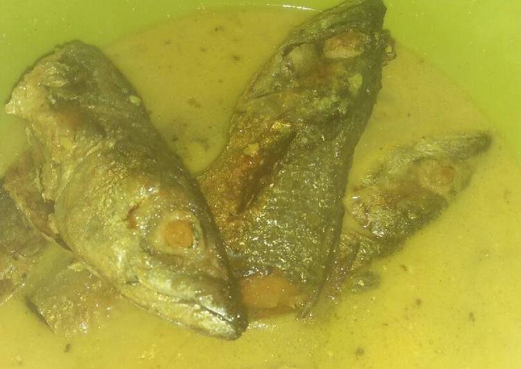 Cara membuat Mangut ikan laut #BikinRamadanBerkesan